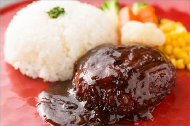 「加藤牛肉店」の「自家製手ごねハンバーグ」(1680円)