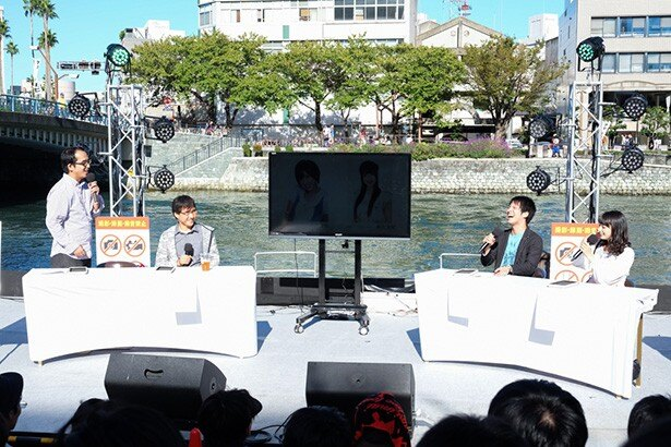 TVアニメ「AKIBA'S TRIP」 徳島発キャスト発表会で「それが声優!」イヤホンズ3人全員参加を発表!【マチ★アソビVol.17】