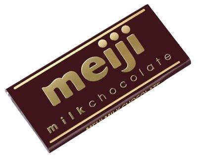 38年ぶりにデザインが一新された明治の「ミルクチョコレート」