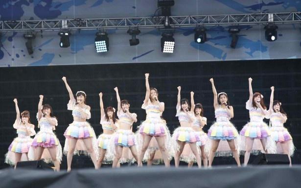 SKE48(10月28日金曜配信)らが出演した「a-nation stadium fes.―」のライブがdTVでVRで楽しめる!