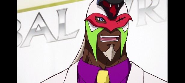 TVアニメ「タイガーマスクW」第2話場面カットが到着。タイガーマスクが初のタッグ戦に挑む