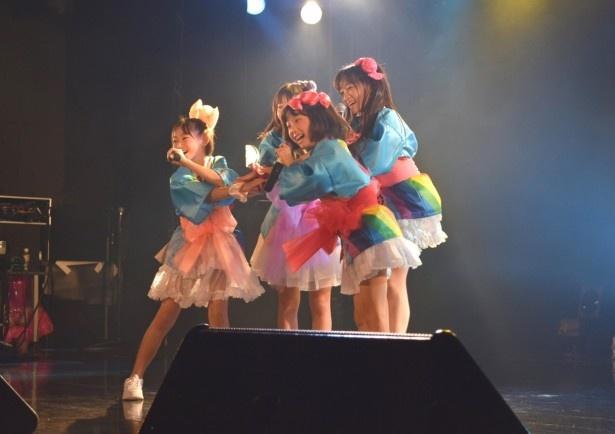 オリジナル曲「ミラクル☆エクスプレス」も披露した