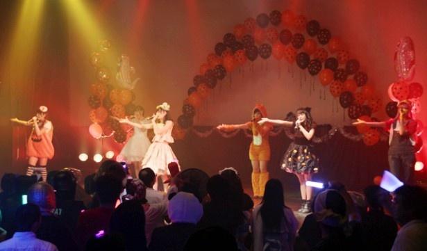水戸ご当地アイドル(仮)が単独ライブ「水戸ご当地ちゃん!LIVE『Halloween afternoon』」を開催