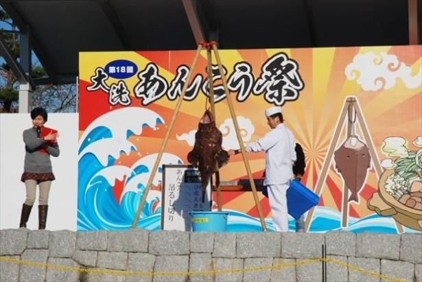 11月13日(日)、「大洗あんこう祭り」が茨城・大洗で開催される