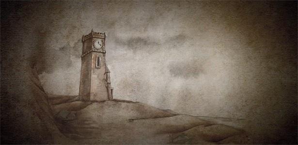 スペシャルムービーは紙芝居風のアニメーションで描かれる