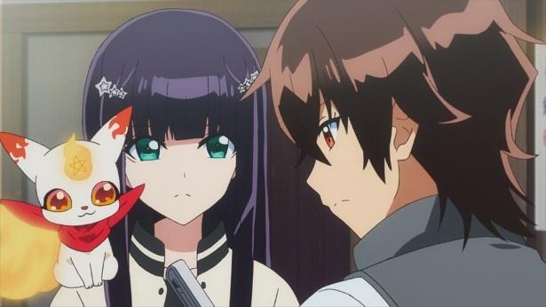 「双星の陰陽師」第28話先行カットが到着。小野大輔演じる新キャラ・鸕宮天馬登場!