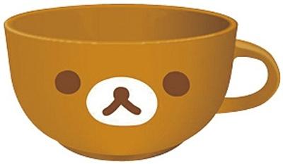 9/15(火)〜11/3(火)まで開催される「リラックマポイントコレクトキャンペーン」で、対象商品についている点数シール20点を集めるともれなくもらえる、「リラックマスープマグ」