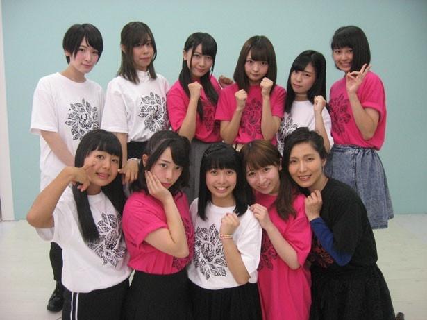 舞台「クォンタムドールズOSAKA」の記者発表会に参加したシングルキャスト陣