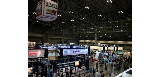 「キャラホビ2009」は、幕張メッセ国際展示場で開催
