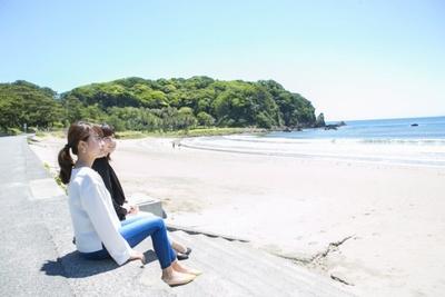 日本渚100選に選ばれた弓ヶ浜で、朝からピクニックで心躍る朝食を