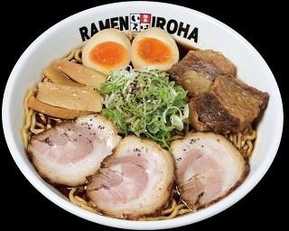 麺やいろはの看板メニュー、 富山ブラック