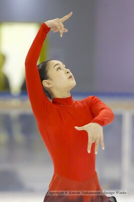 村上佳菜子、中部ブロックでのショートプログラムの演技