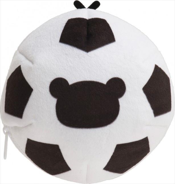 「あつめてアニバーサリーぬいぐるみ」のサッカーボール