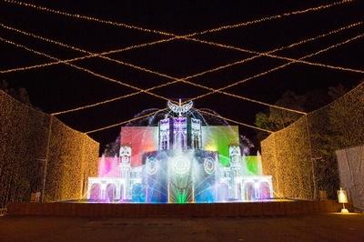 【写真を見る】さがみ湖イルミリオンに今年新たに登場した「光の大宮殿」