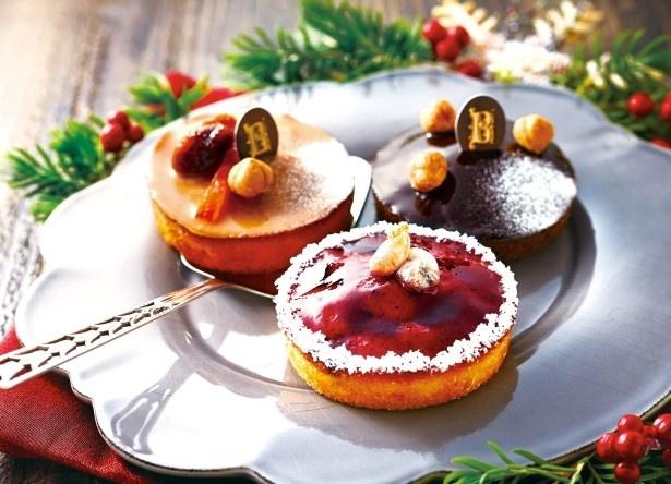 人気の「ガトー・ナンテ」シリーズからは甘酸っぱいカシス、キャラメル、チョコレートを使った濃厚な味わいの3種類が登場
