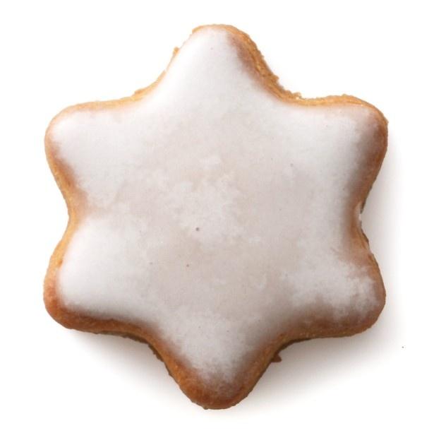 【写真を見る】12月1日(木)からはスパイスが香る星型のアイシングクッキー「ノエルクッキー<お星さま>」(162円)も販売。オーナメントのようなかわいらしいクッキーだ