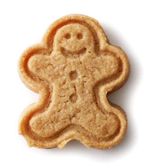 クリスマスを楽しく演出してくれるキュートな笑顔の小さなジンジャーマン「ノエルクッキー<ジンジャーベイビー>」(152円)
