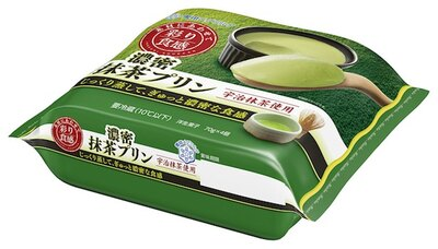 好評発売中の「彩り食感 濃密抹茶プリン(70g×4個)」(税抜 270円)