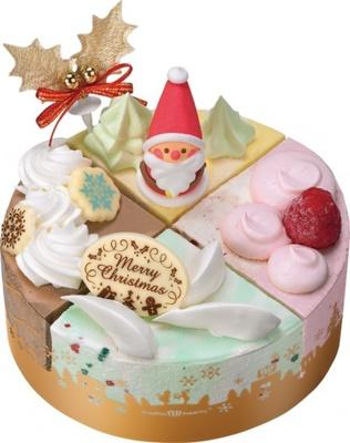 4ピースのアイスケーキは少人数でも楽しめる「パレット4」(参考価格・2800円)