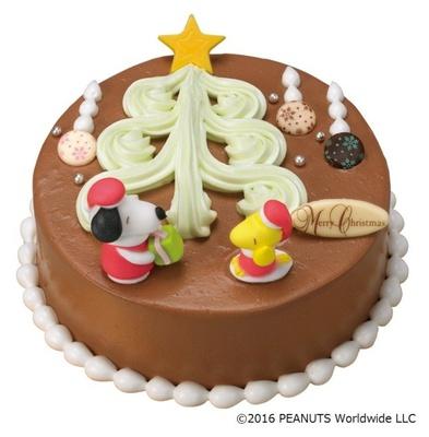 サンタの格好をしたスヌーピーをデコレーション!「'スヌーピー'メリーツリークリスマス」(参考価格・3400円)