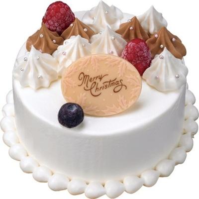 カップルや少人数のパーティーにぴったりな3号サイズケーキ「クリスマス スペシャリテ」(参考価格・2400円)