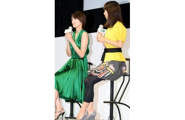 吉瀬美智子&クボジュンも、超賢い冷蔵庫にメロメロ