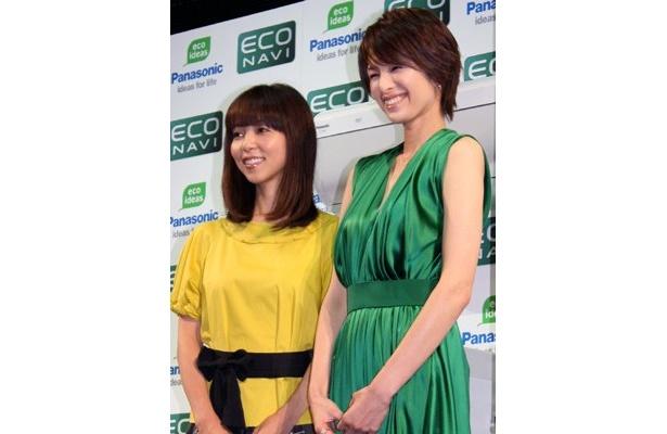「7歳になる娘がエコに厳しいんです(笑)」と、久保純子さん