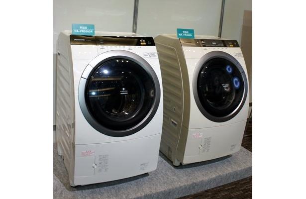 洗濯物の「量」「泥汚れ」「汗汚れ」などを、成分別に分析、使う水の量や選択時間を、判断し調整してくれる、ドラム式洗濯乾燥機