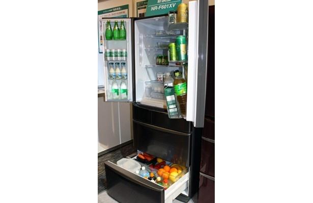 超賢い冷蔵庫は、使い勝手もバツグン!