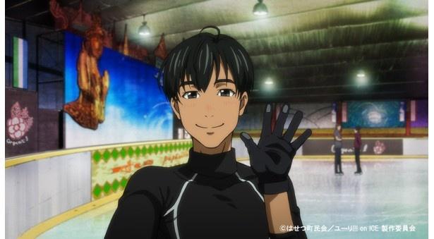「ユーリ!!! on ICE」第4話先行カットが到着。フィギュアスケートソングコレクション発売も決定