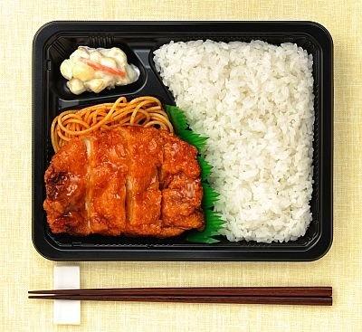 """""""398円お弁当""""画像3点"""