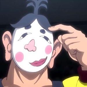 「タイガーマスクW」第5話先行カットが到着。ご当地レス ラー・ふくわらマスクと対峙
