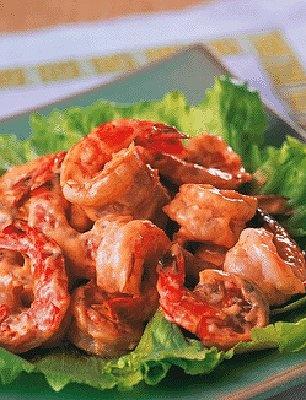 海老の中華マヨネーズ炒め