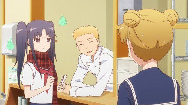 「WWW.WORKING!!」第5話先行カットが到着。ミリ、ワグナリアの恋愛事情を調査!