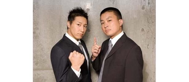 長田庄平(左)・松尾アンダーグランド(右)