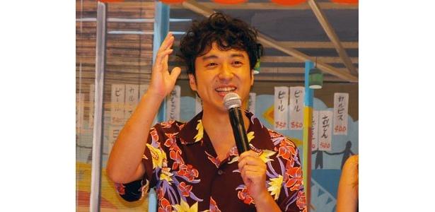 浮気願望いっぱいの猫田役のムロツヨシ