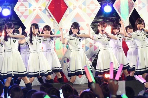 欅坂46の1周年前夜ライブがCSテレ朝チャンネル1にて放送される