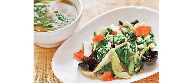 野菜は炒めてたくさん食べよう