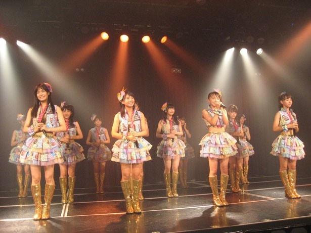 NMB48研究生公演初日に出演した12人