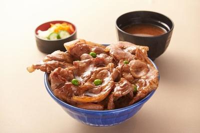 館山自動車道 市原SAで販売する「市原豚丼」(1,000円)