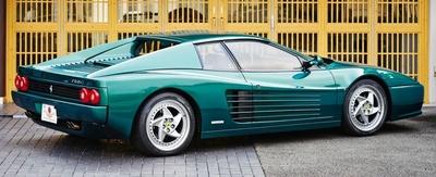 【写真を見る】フェラーリが1994年から1996年にかけて製造したスポーツカー「フェラーリ F512M」