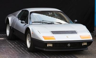 1976年製造の「フェラーリ 512BB」スーパーカーブーム当時、少年達の憧れの的だった