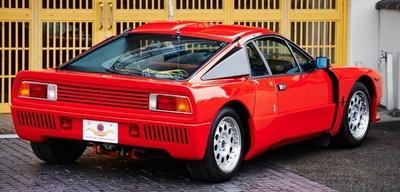 フィアットグループが1982年の世界ラリー選手権に投入したラリーカー「ランチャ・ラリー 037」