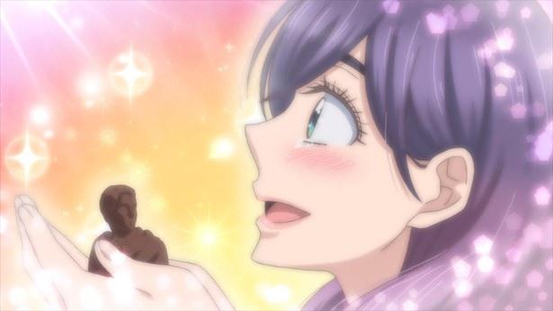 「私がモテてどうすんだ」第5話先行カットが到着。シオンに贈るチョコは美しくなくちゃ!