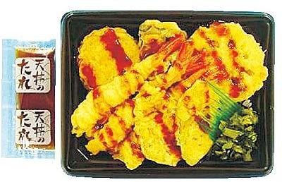 サークルKサンクスからは大阪・勝間南瓜を使った天丼が登場