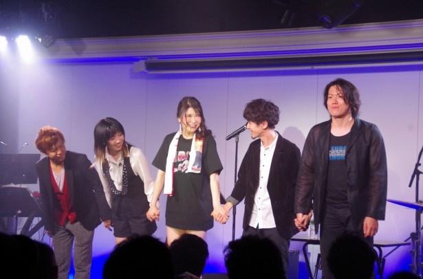ライブの最後には「また開催出来るように努力します!」と宣言