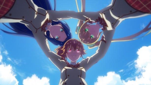 「アイドルメモリーズ」第6話先行カットが到着。StarRingが路上ライブのリベンジに挑む!