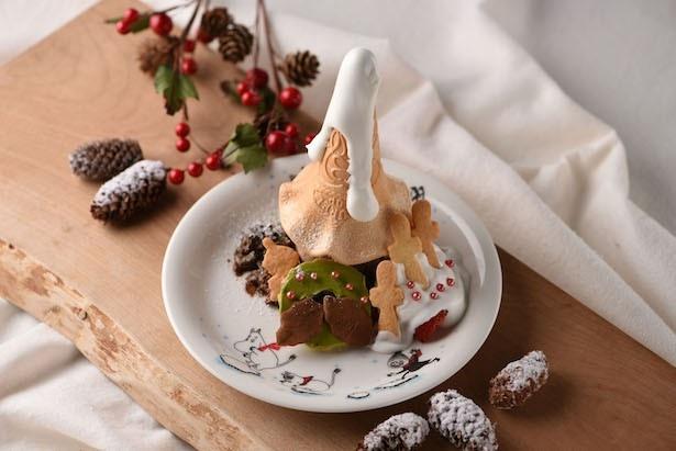 クリスマスムードたっぷり!ムーミンカフェから冬の限定スイーツ登場