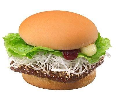 バーガーで焼き肉が楽しめちゃう「ねぎ焼肉ウェンディーズ」(シングル350円)