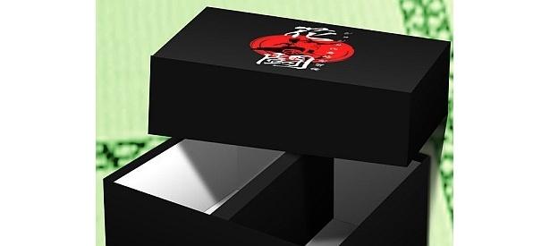 クールな漆黒の箱